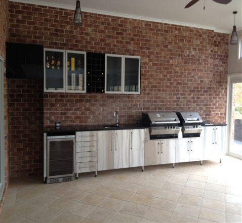 Northside kustom kitchens brisbane north laundry for Kitchen cabinets brisbane